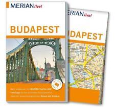 REISEFÜHRER BUDAPEST 2016/17 + STADTPLAN; UNGELESEN, wie neu ~ MERIAN LIVE