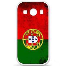 Coque housse étui tpu gel motif drapeau Portugal Samsung Galaxy Ace 4 G357