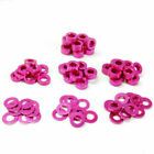 10PCS M3 CNC Round Aluminum Alloy Flat Spacer Washer Screw Gasket Ring For RC