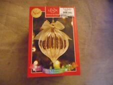 Lenox Lit Mercury Golden Glass, Color Changing, Ball Ornament- Msrp $40-Nib