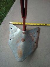 "Furrower Point Cultivator Plow Shovel 10"" Cutting Width ATV Garden Tractor"