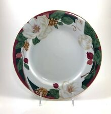 MAGNOLIA DINNER PLATE SET OF 4 TIENSHAN FINE CHINA REPLACEMENT DISHES FLOWER