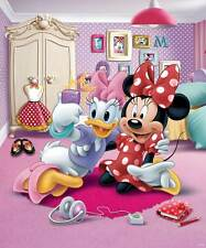 Fototapete Disney Minnie Mouse Daisy Duck Shopaholic Walltastic 3D-Optik Tapete