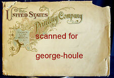 Trade Catalog - 1896 - United States Printing Co.- Color Printing