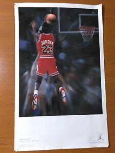 NIKE AIR JORDAN 4 IV THE SHOT Poster Chicago Bulls MICHAEL JORDAN Cement Bred