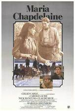 MARIA CHAPDELAINE Movie POSTER 27x40 Nick Mancuso Carole Laure Claude Rich