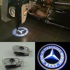 2X LED door courtesy laser projector light Mercedes Benz W203 C Class SLK CLK SL