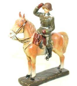 VINTAGE PRE-WAR ELASTONIN (7CM) COMPOSITION WWI GERMAN CAVALRY OFFICER