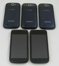 5 Samsung SGH-T679 Galaxy Exhibit 4G T-Mobile Phone Lot