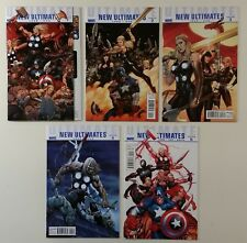 Full Run of Ultimate New Ultimates #1-5 Marvel Frank Cho Covers NM Complete 2010