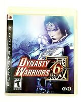 Dynasty Warriors 6 (Sony PlayStation 3 PS3, 2008) 8.92 /10 Superior Condition !