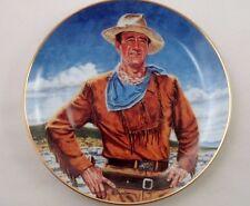 John Wayne The Duke Robert Tenenbaum Franklin Mint Ltd Edition Collector Plate