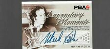 Mark Roth PBA Legendary Moments autograph by Rittenhouse