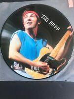 *RARE* Bruce Springsteen Interview Picture Disc BS 1012 UK 1987 Mispress
