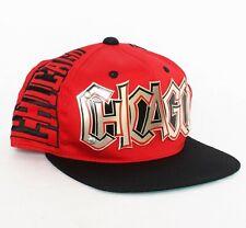 Vintage 90s Era Chicago Snapback hat cap Metal Plate Bulls NEW