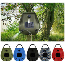 20L Water Bags Outdoor Camping Solar Heat Shower Bag Portable Compact Heated