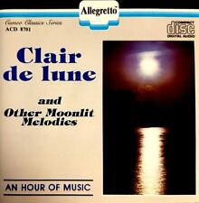 Clair de lune and Other Moonlit Melodies (CD, Vox)