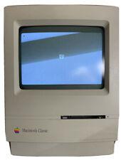 RARE VINTAGE APPLE MAC MACINTOSH classic COMPUTER SYSTEM (VGC)