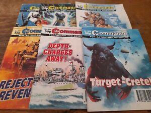 6 COMMANDO COMICS 1994
