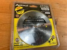 """Avanti OSB Plywood Circular Saw Blade 5-1/2"""" x 100 Teeth - FREE SHIP"""