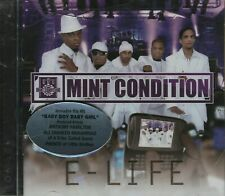 Mint Condition ‎– CD E-Life BRAND NEW SEALED With Hype Sticker - Moan