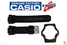 CASIO G-Shock GA-201-1A Black Rubber Watch Band & Bezel Combo