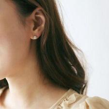 Elegant Stylish Ear Stud Women Lady Circle Crystal Rhinestone Earrings Jewelry
