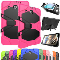 Heavy Duty Shockproof Stand Hard Case Cover For Samsung Galaxy Tab E 8.0 / 9.6