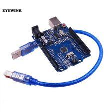 Uno-compatibile Arduino DEV. Board R3 Rev3 ATMEGA 328P CH340G-cavo USB gratuito