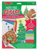 Melissa and Doug - Mess Free Glitter Christmas Tree & Gingerbread House - (BNIB)