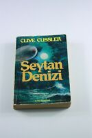 CYCLOPS 1980s Turkish Novel CLIVE CUSSLER Ultra Rare 1ST PRINT Illustrated Cover