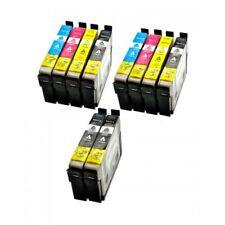 KIT 10 CARTUCCE T0711 T0712 T0713 T0714 COMPATIBILI PER Epson Stylus D78/D78/D92