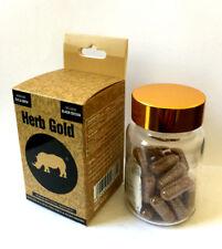 Black Herb Gold Men Enhancement Sex Pills permanent Enlargement 30 pills Bottle