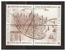 s31392) SMOM 1991 MNH**  Antiche fortezze II 4v