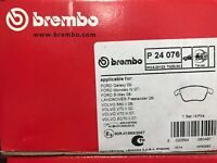 Brembo P24076 Pad Set Front Brake Pads Teves ATE System Ford Mondeo S-Max Volvo