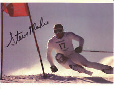 STEVE MAHRE - Alpine Ski Racer - Olympic Champion - Autograph Photo