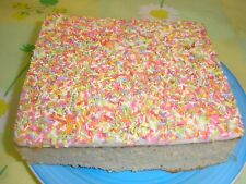 Home Made ICED SPONGE CAKES x2    Free Postage   Family bakery Shop
