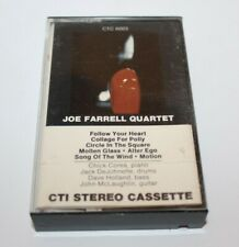 Joe Farrell Quartet Cassette Tape CTI Records CTC6003 Jazz