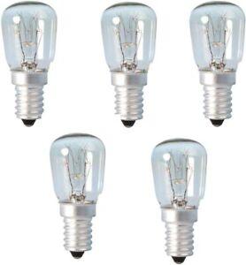 15w Watt Pygmy Bulbs E14 Himalayan Salt Lamp Sewing Machine Screw in Bulbs x 5
