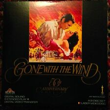Gone With The Wind / 50th Anniversary -  Laserdisc  Buy 6 For Free Shipping