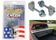 Dee Zee DZ97904 Tool Box Tie Downs Hold Downs Mounts Pickup New Free Shipping
