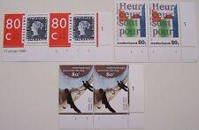 Ned. - Serie paren Gedicht, Mesdag, Blauwe Mauritius 1995 postfris Etsingnrs (2)