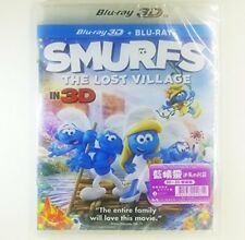 Smurfs: The Lost Village 2D + 3D (2017) (Region A Blu-Ray) (Hong Kong Version /
