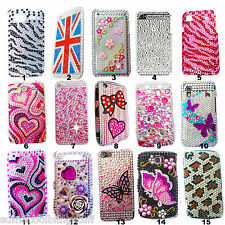 BLING COOL SPARKLE LUXURY DIAMANTE DIAMOND PROTECT CASE COVER APPLE iPHONE 4 4S