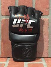 Urijah Faber autographed signed glove UFC inscribed HOF 17 JSA w/ COA