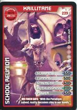 Doctor Who Monster Invasion Extreme Card #239 Krillitane