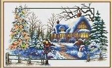 """NEW Cross Stitch Kits""""Winter"""""""