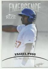 2012 Leaf Emergence Rize Yasiel Puig Rookie Prospect DODGERS