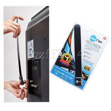 3pcs Top Clear Tv Key Hdtv Free Digital Indoor Antenna Ditch Cable As Seen on Tv