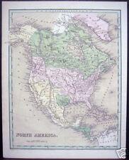 """Thomas G. Bradford: """"North America,"""" 1838"""